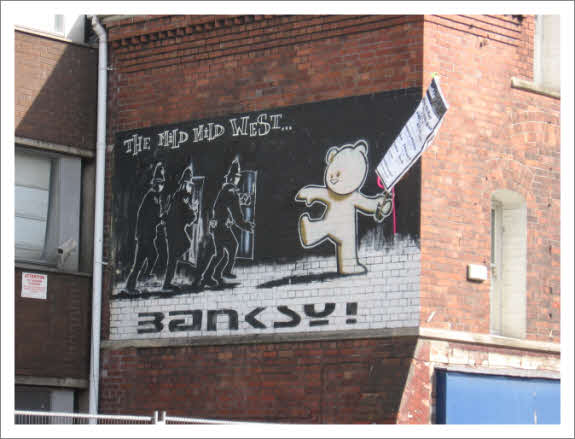 Photo editor banksy mild mild west and poster for 13th floor growing old