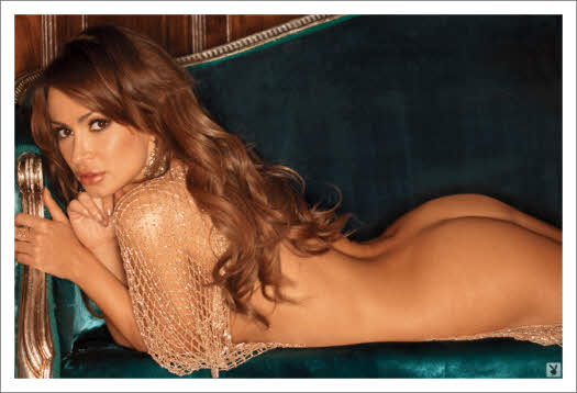 Karina Smirnoff of Dancing with the Stars, May 2011 Playboy, naked ...